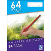 SOVEREIGN A4 EXERCISE BOOK 8MM Ruled 64 Page