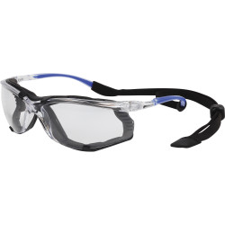 3M Protector Eyewear S56CDGR Safety Specs With Dust Guard Clear Lens