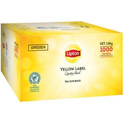 LIPTON YELLOW LABEL TEA CUP Tea bags BOX 1000