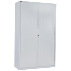 RAPIDLINE GO TAMBOUR CUPBOARD 5 SHELVES 900 W x 1981mm H x 473mm D White China