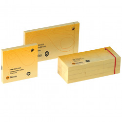 MARBIG NOTES 40x50mm Yellow