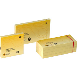 MARBIG NOTES 75x125mm Yellow 1810505