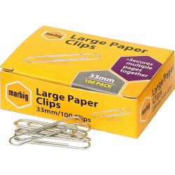 PAPER CLIPS 28MM SMALL GLIDER