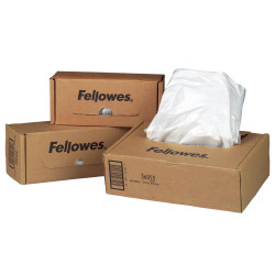 FELLOWES SHREDDER WASTE BAGS Fits 125 & 225 Series Roll 50