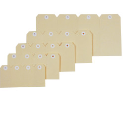 SHIPPING TAGS No. 4 54x108mm 38986