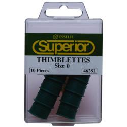 SUPERIOR THIMBLETTES Size 0 GREEN
