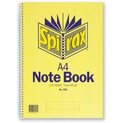 SPIRAX 595 56058 NOTE BOOK A4 120PG