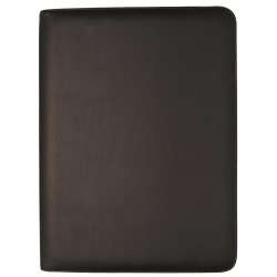 DEBDEN COMPENDIUM PORTFOLIO Diary Zippered A5 Week To View Black
