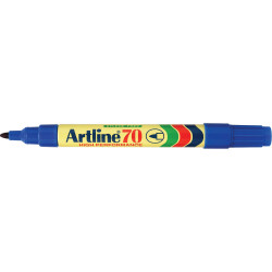 ARTLINE 70 PERM MARKERS Blue 107003