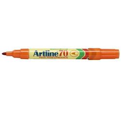 ARTLINE 70 PERMANENT MARKERS Med Bullet Orange