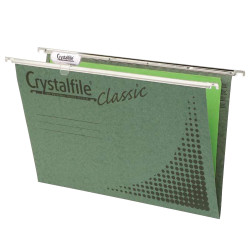 CRYSTALFILE SUSPENSION FILES F/CAP RECYCLED CLASSIC BOX 50