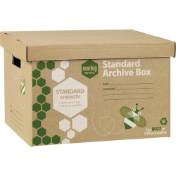 ARCHIVE BOX ENVIRO STANDARD WOOODGRAIN 80020F