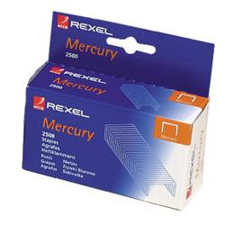REXEL STAPLES HEAVY DUTY For Mercury Stapler Box of 2500