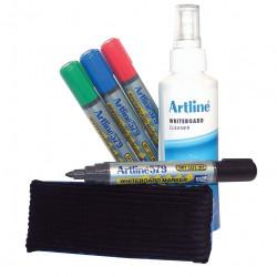 ARTLINE WHITEBOARD STARTER KIT 2-4MM BULLET