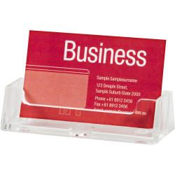LANDSCAPE BUSINESS CARD HOLDER FREE STANDING ESSELTE