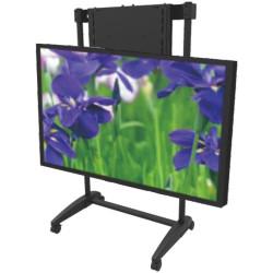 EASILIFT PORTABLE TV STAND TVS300-Kit Height Adjustable Black